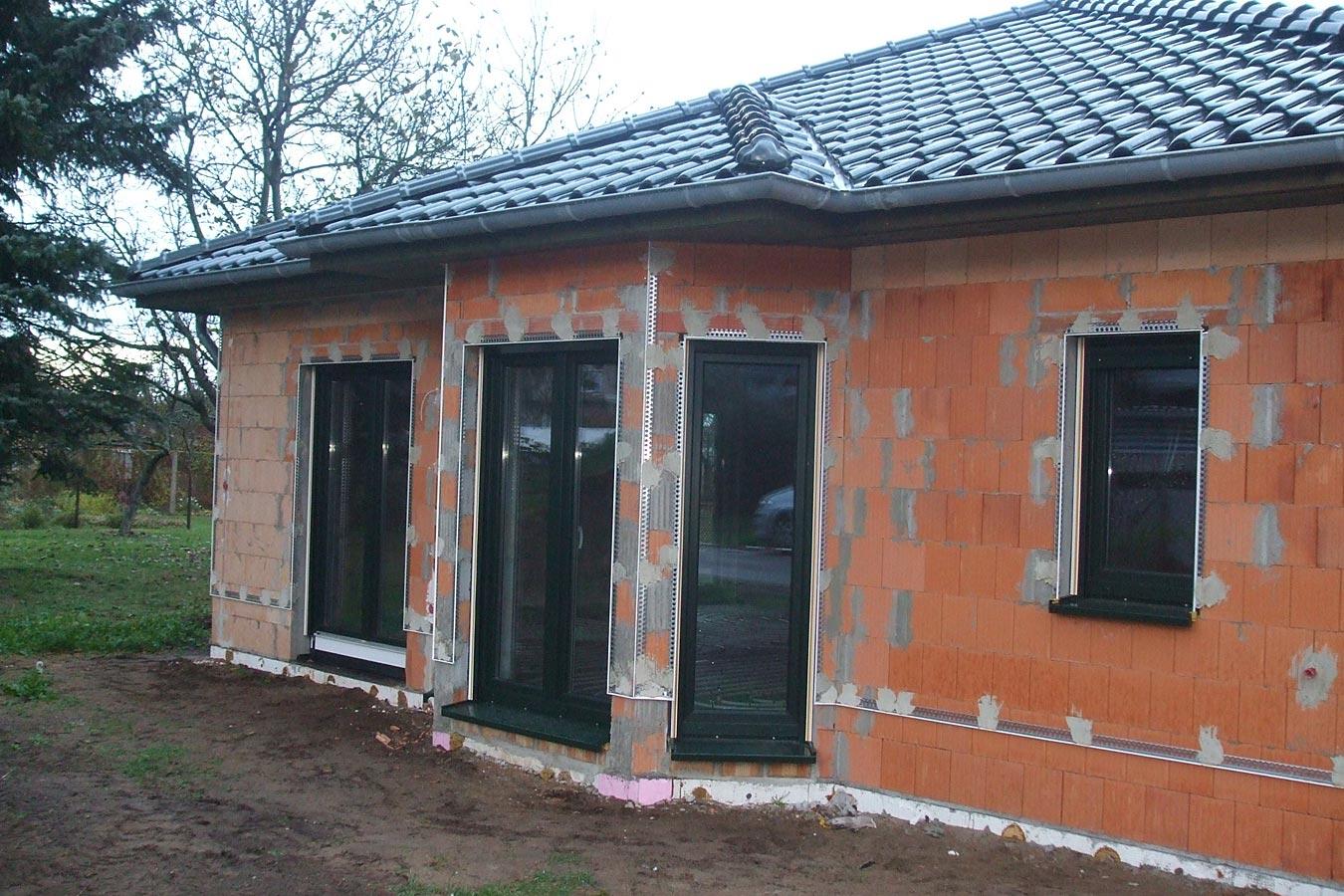 Dusche Bodengleich Estrich : Baustellenimpressionen – Willkommen bei der Templiner Hausbau GmbH