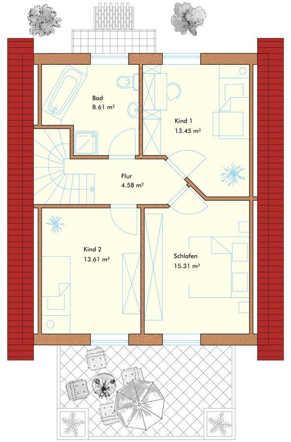 th 117 einfamilienhaus willkommen bei der templiner hausbau gmbh. Black Bedroom Furniture Sets. Home Design Ideas